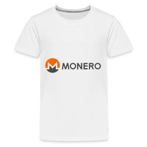 monero - Kids' Premium T-Shirt