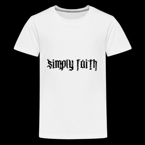 SIMPLY FAITH - Kids' Premium T-Shirt