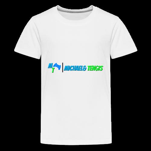 Michael and Tengis - Kids' Premium T-Shirt