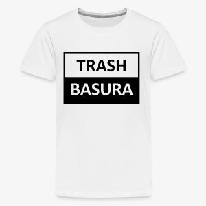 TRASH BASURA - Kids' Premium T-Shirt