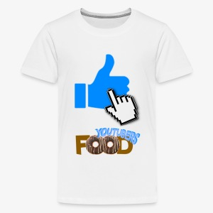 La nourriture de Youtuber - T-shirt premium pour ados