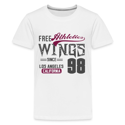 Athletics wings - Kids' Premium T-Shirt