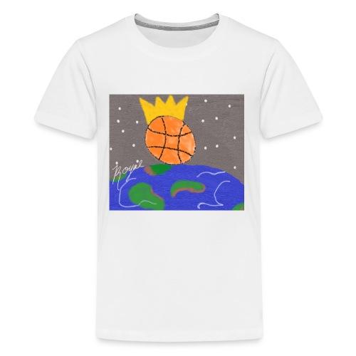royal baller in space - Kids' Premium T-Shirt