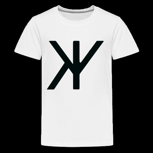 Classic Logo [Black Variant] - Kids' Premium T-Shirt