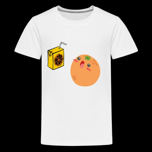 Oh orange you didn't - Kids' Premium T-Shirt