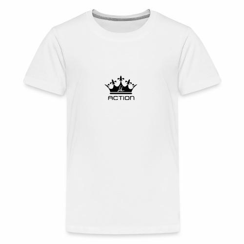 Lit Action Crown - Kids' Premium T-Shirt