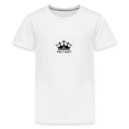 Lit Action Crown - Kids' Premium T-Shirt