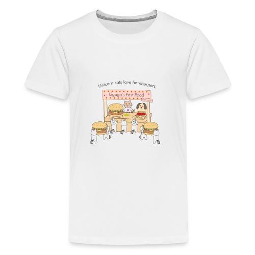 At the market - Kids' Premium T-Shirt