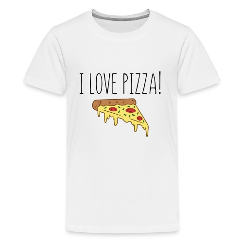 I Love Pizza - Kids' Premium T-Shirt