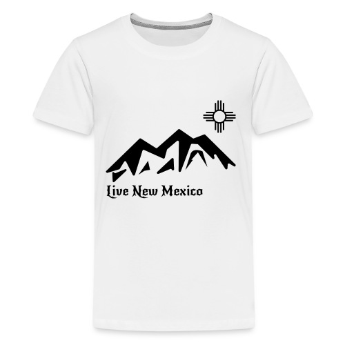 Live New Mexico logo - Kids' Premium T-Shirt