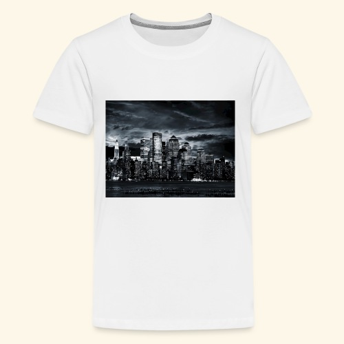 black logo 3 - Kids' Premium T-Shirt