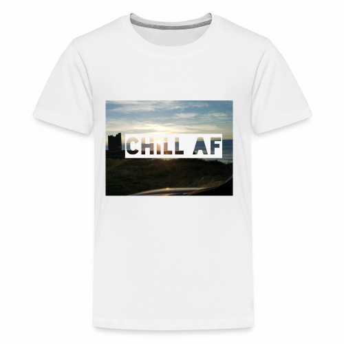CHILL AF Castle - Kids' Premium T-Shirt