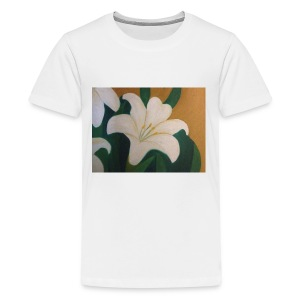 Single Flower - Kids' Premium T-Shirt