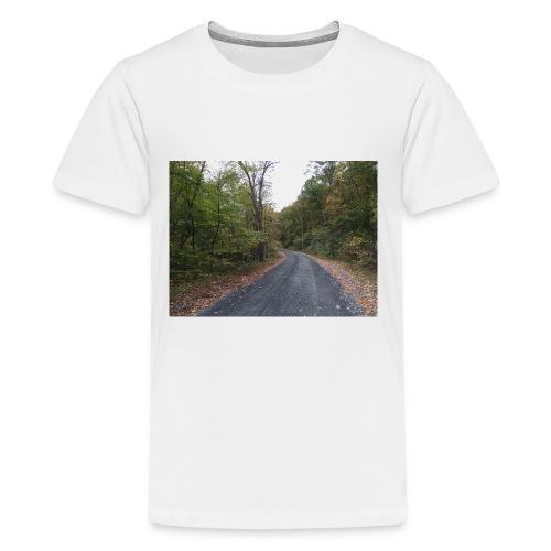 IMG 2835a walk with nature - Kids' Premium T-Shirt