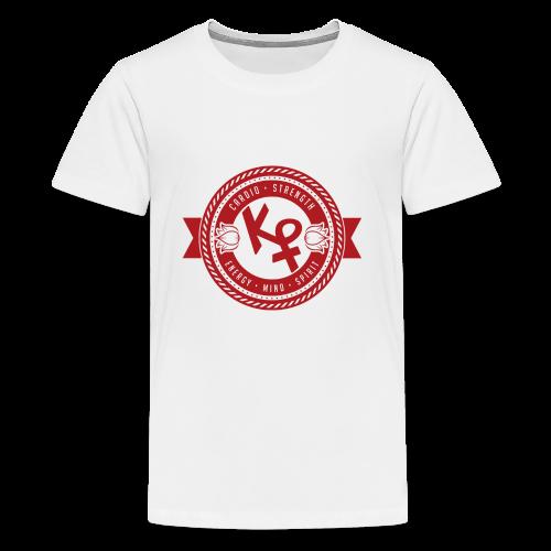Determination Red2 - Kids' Premium T-Shirt