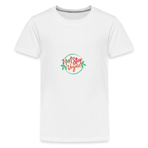 NextStopVegan01 2 - Kids' Premium T-Shirt