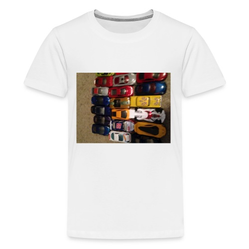 22 super cars! - Kids' Premium T-Shirt