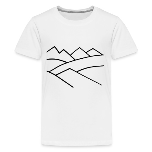 The Mountains - Kids' Premium T-Shirt