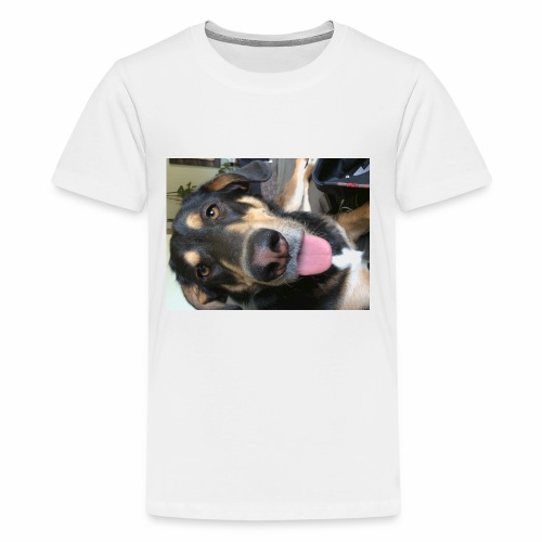 The cutest dog ever - Kids' Premium T-Shirt