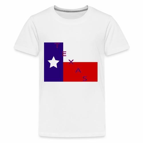 Texas Flag - Kids' Premium T-Shirt