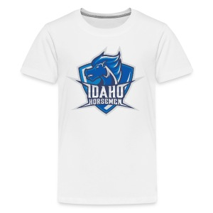 Idaho Horsemen Shield - Kids' Premium T-Shirt