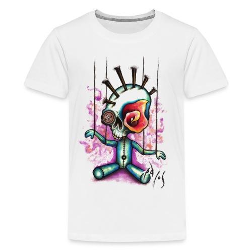 Punkpuppet Skull - Kids' Premium T-Shirt