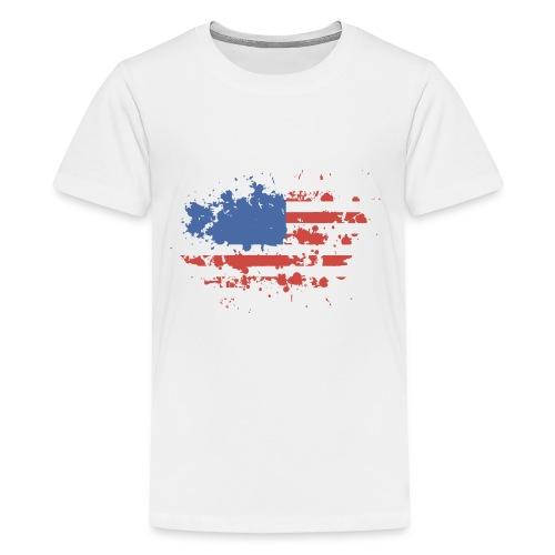 American flag - Kids' Premium T-Shirt