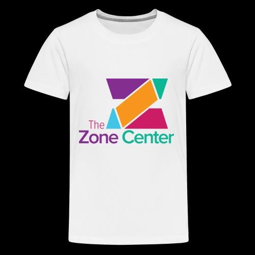 Zone Center T Shirt Logo MultiColor - Kids' Premium T-Shirt