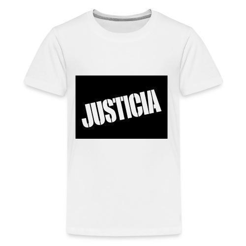 Justicia 2 Black - Kids' Premium T-Shirt
