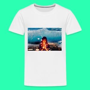 Girl Wave - Kids' Premium T-Shirt
