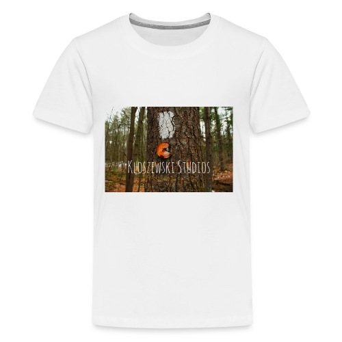Back In Woods - Kids' Premium T-Shirt