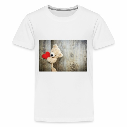 Heart Bear - Kids' Premium T-Shirt