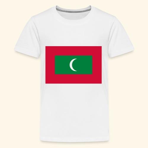 Flag of Maldives - Kids' Premium T-Shirt