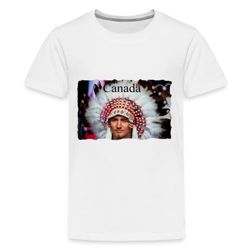 Chief Justin Canada - Kids' Premium T-Shirt