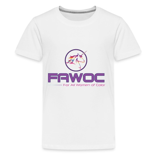 FAWOC Full logo - Kids' Premium T-Shirt