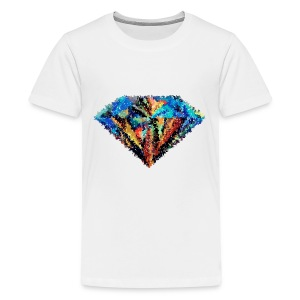 abstract diamond - Kids' Premium T-Shirt