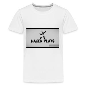 Haiden plays merch - Kids' Premium T-Shirt