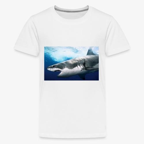 huge shark - Kids' Premium T-Shirt