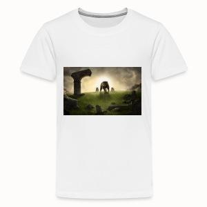 king bear with cubs merchandise - Kids' Premium T-Shirt