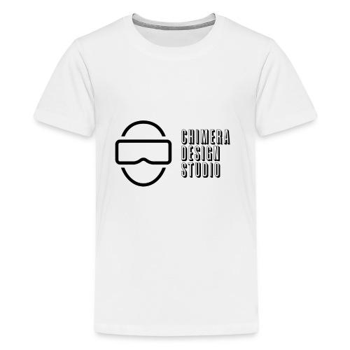 Chimera Design Studio dark logo - Kids' Premium T-Shirt