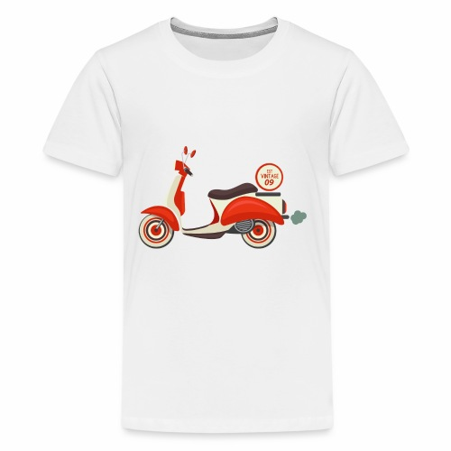 Scooter Vintage - Kids' Premium T-Shirt