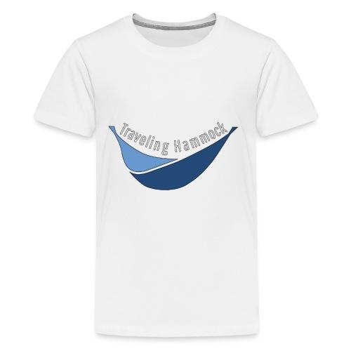 Traveling Hammock Logo without the background - Kids' Premium T-Shirt