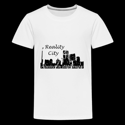 Reality City - light - Kids' Premium T-Shirt