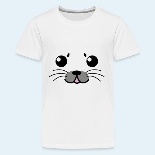 Baby seal (Puppies) - Kids' Premium T-Shirt