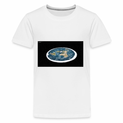 Flat Earth From Space - Kids' Premium T-Shirt