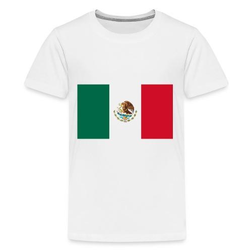 Mexican flag - Kids' Premium T-Shirt