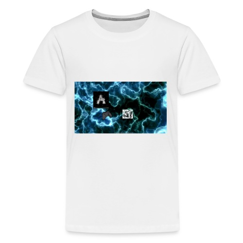 Andrew _Gaming/Vlogs Button - Kids' Premium T-Shirt