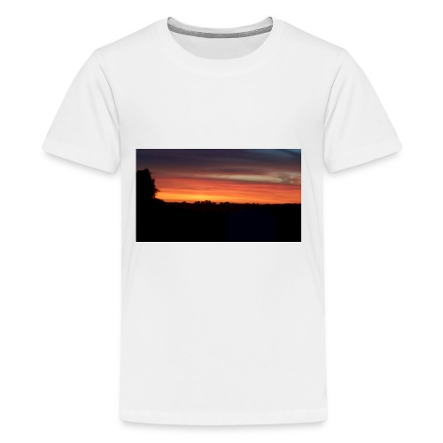 Summer Sunset - Kids' Premium T-Shirt