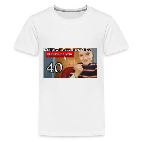 40 subs shirt - Kids' Premium T-Shirt
