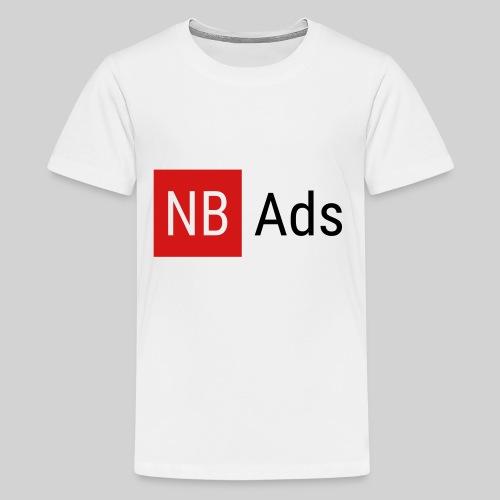 Nothing But Ads Logo - Kids' Premium T-Shirt